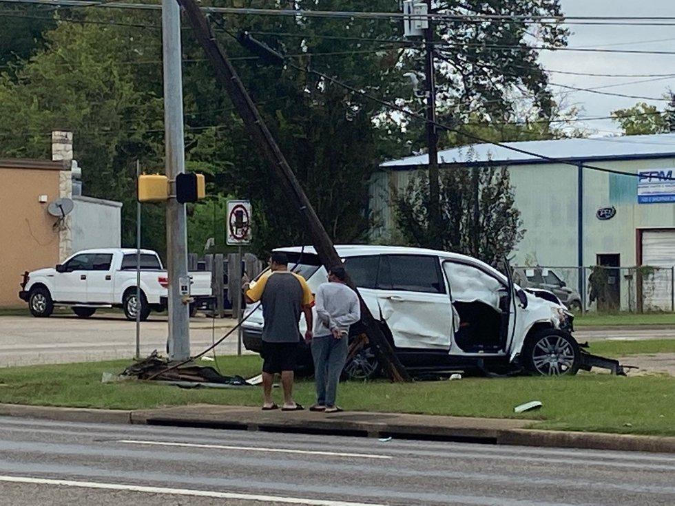Crash on Pine Tree Road