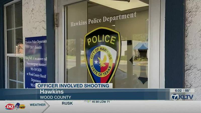Hawkins Officer Involved Shooting