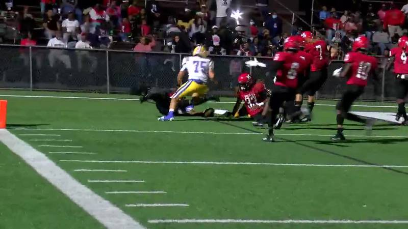 WATCH: Kilgore's Peyton Christian recovers Chapel Hill fumble in end zone for touchdown