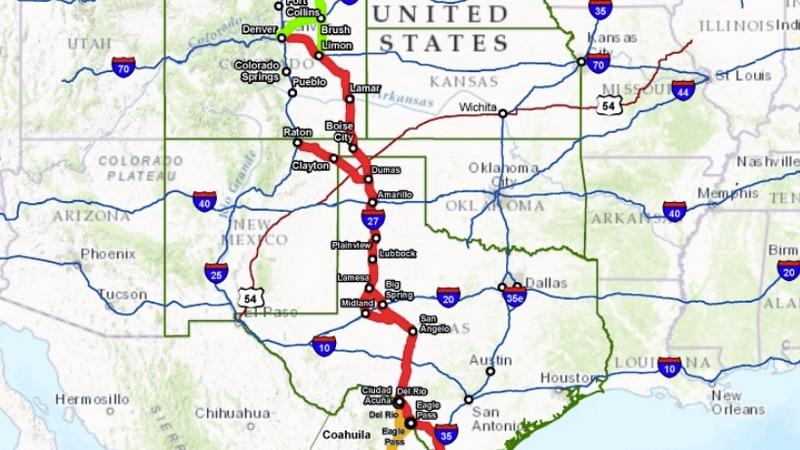 Rep. Arrington reintroduces Ports-to-Plains highway legislation