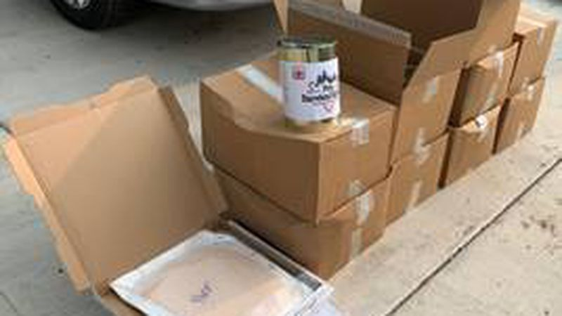 DPS officials say a trooper found nearly 850 pounds of THC products during a traffic stop in...