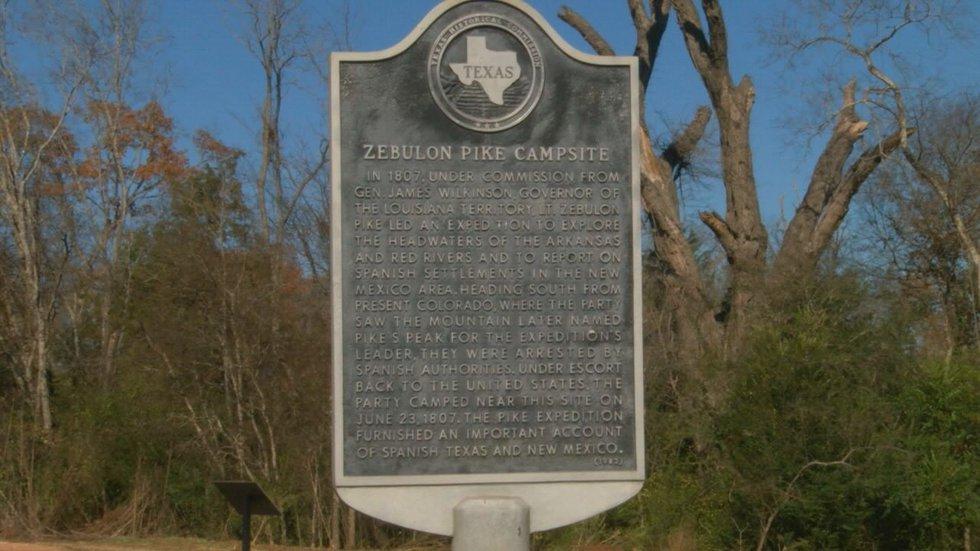 The namesake of Pike's Peak once traveled through East Texas.