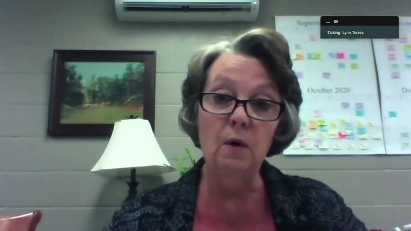 Lufkin ISD Superintendent Lynn Torres