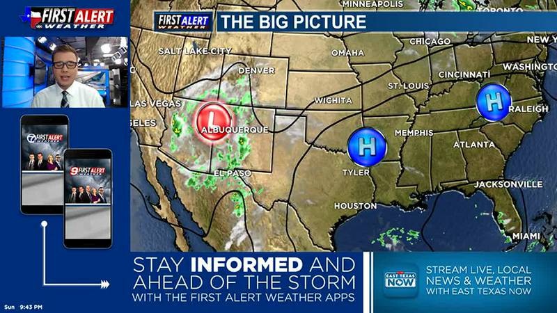 Sunday Overnight Weather At Your Fingertips 9-26-21