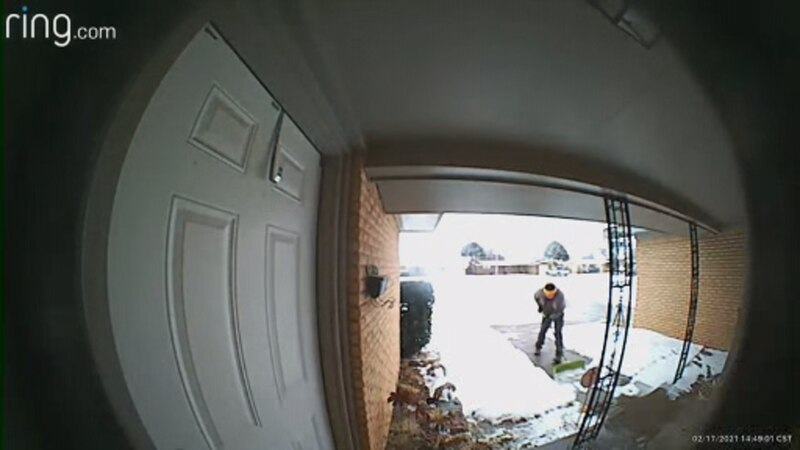 A Lubbock mother is trying to identify an anonymous Good Samaritan who cleared the driveway for...
