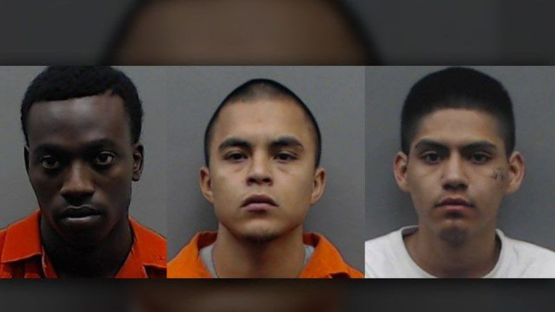 Tarrance Reggie, left, Joel Camacho, center, and Carlos Ochoa were all indicted in connection...