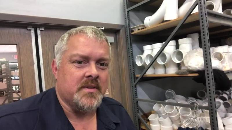 Longview plumbers work mending thousands of feet of pipe after snowstorm