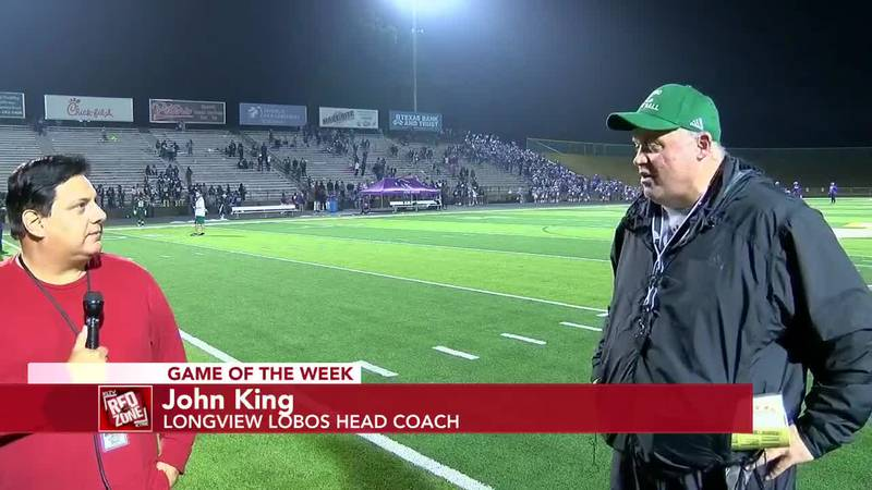 2020 Week 16 Coach Interview: Longview Head Football Coach John King