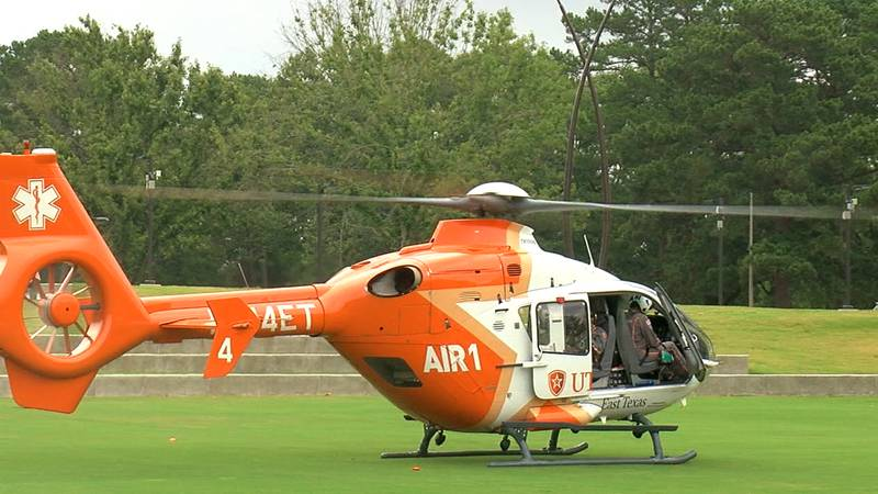 WebXtra: UT Tyler Air1 helicopter and career options