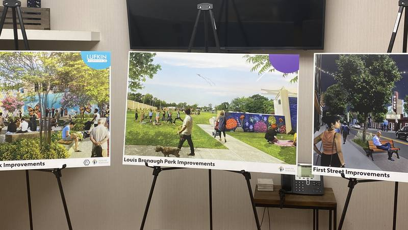 The Lufkin Development Plan plans to bring projects to downtown