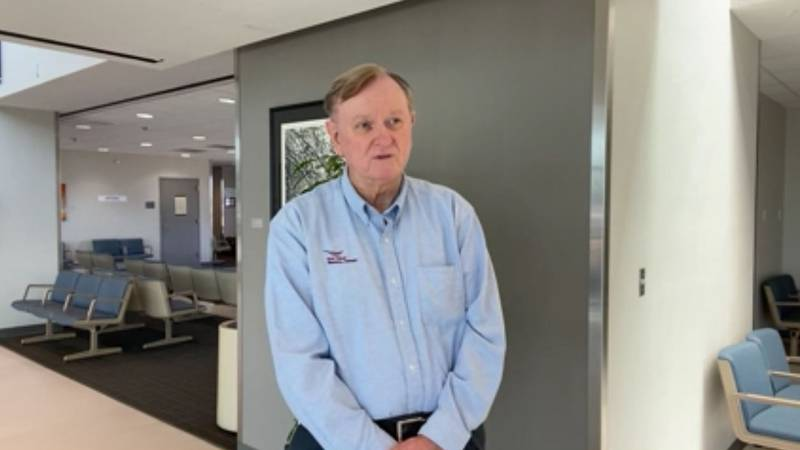 Pictured is Roy Miller, the manager of the East Texas Regional Airport. (Source: KLTV Staff)