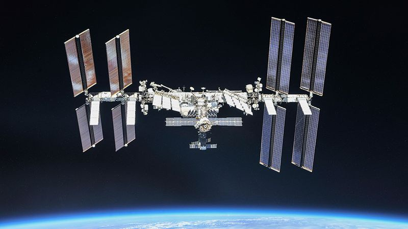 An unknown piece of space debris is expected to pass near the International Space Station...