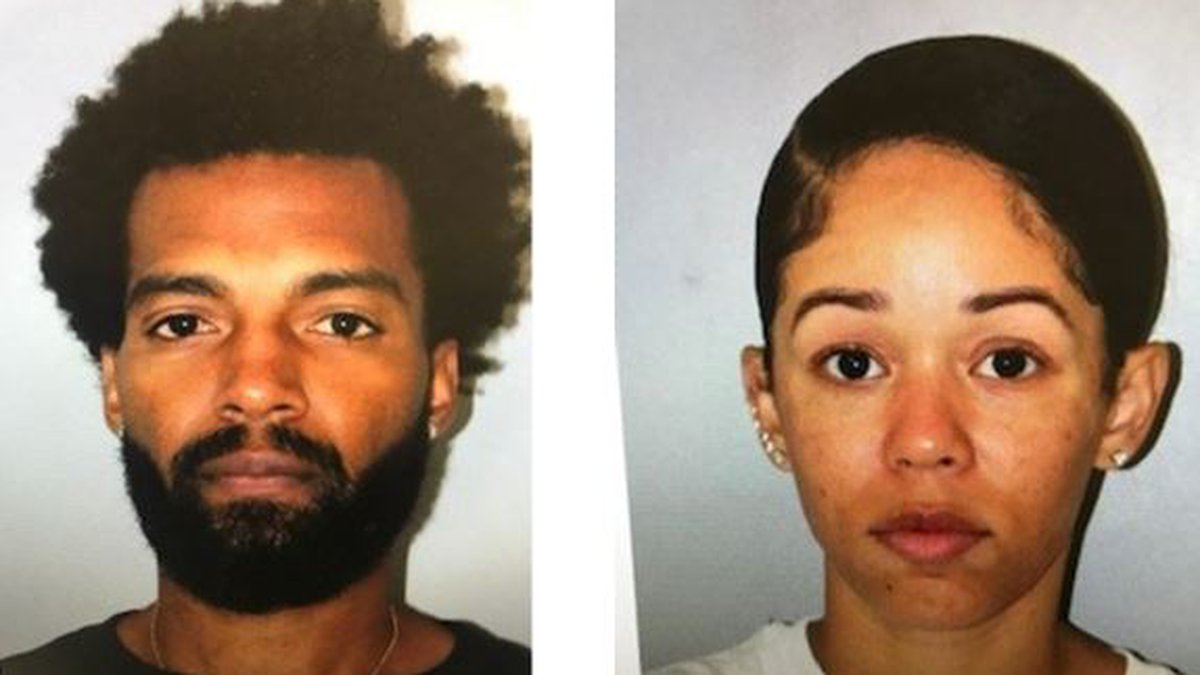 Police said Lazar Hayward Jr. and Raven Randle reportedly uploaded fake COVID test results to...