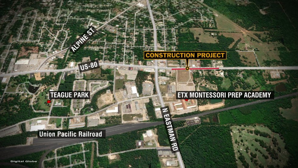 The Texas Department of Transportation (TxDOT) reports construction will begin Tuesday to...