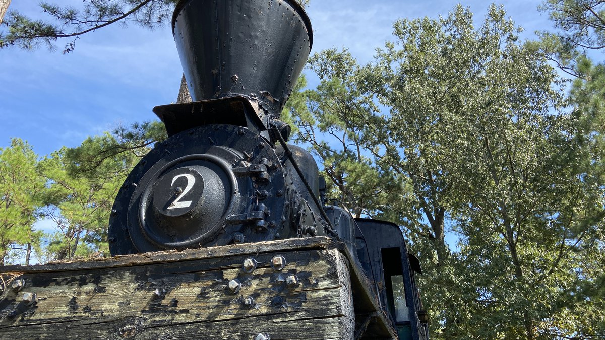 The Shay locomotive has been on the campus of SFA for more than 50 years, but will now have a...