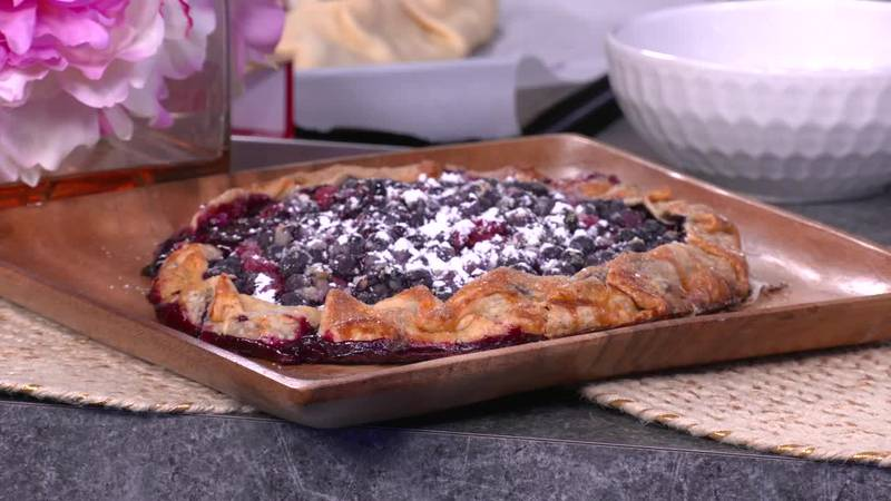 Summer berry tart by Mama Steph