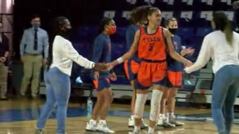The UT-Tyler women's basketball team lost to Lubbock Christian 73-26. (Source: KLTV Staff)
