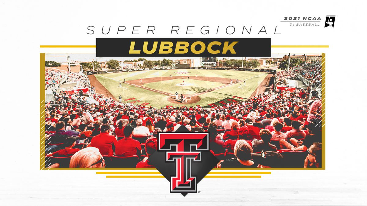 The NCAA has announced times for the Lubbock Super Regional, which takes place June 11-13.