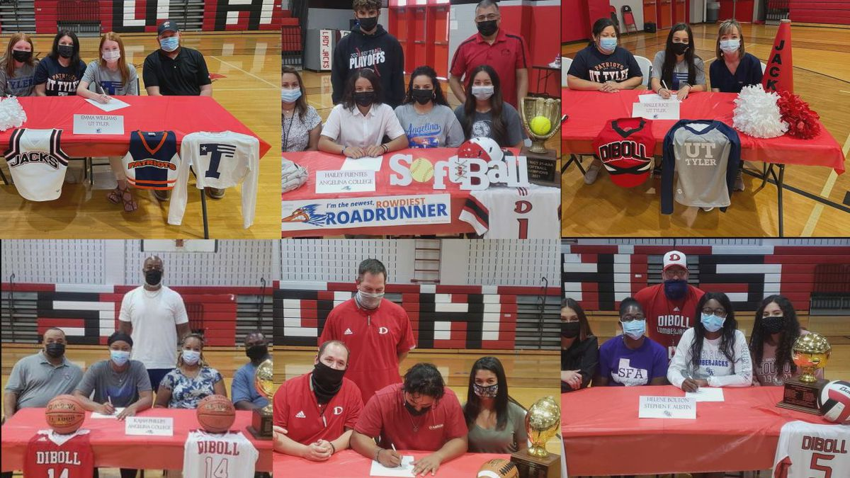 Signing Day Diboll