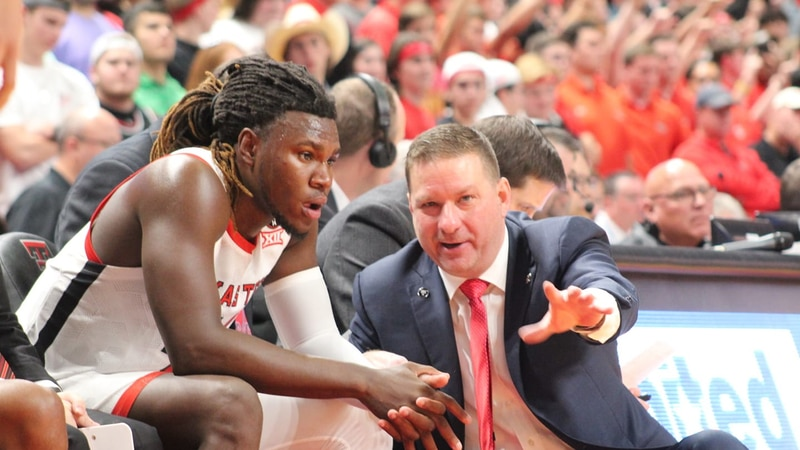 the Red Raider basketball team is growing as a team, as they continue to figure out how to play...