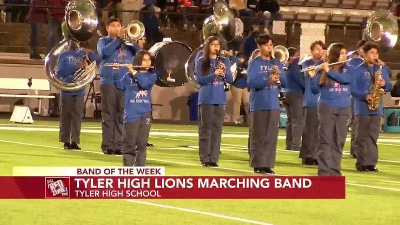 2020 Band of the Week, Week 6: Tyler High Lions