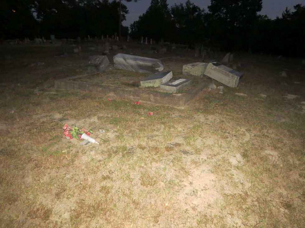 The Henderson County Sheriff's Office is searching for vandals who destroyed 35 headstones at...