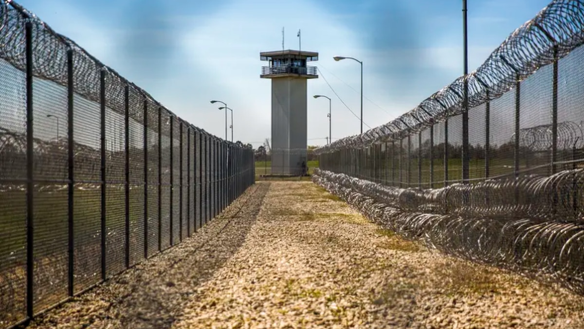 Barry B. Telford Unit state prison in New Boston, Texas