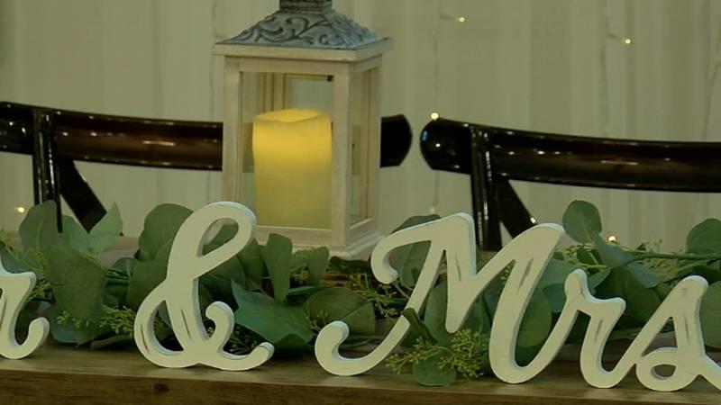 Decorations for Sunset Oaks