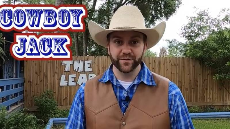 Cowboy Jack starts next adventure on YouTube