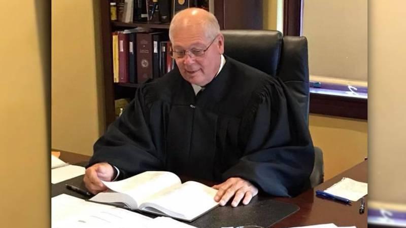 Rains County Judge Wayne Wolfe.