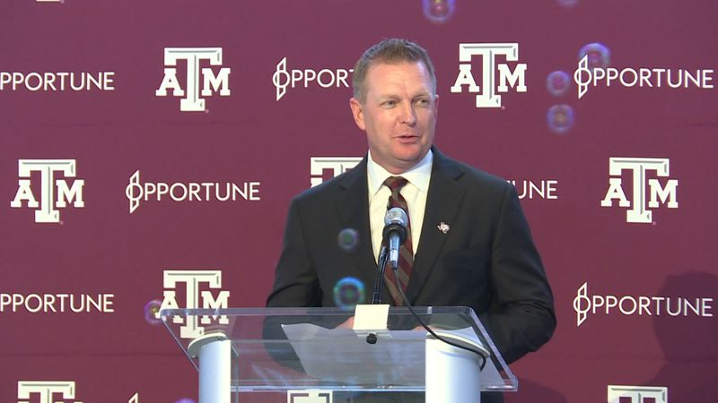 New Aggie Baseball Coach Jim Schlossnagle met Aggie Fans and the local media Thursday.