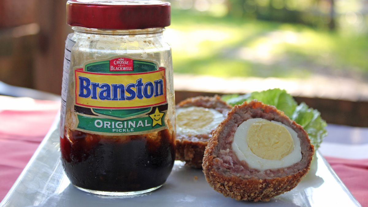 Scotch eggs are a filling, delicious pub food that you can make at home to enjoy whenever you...