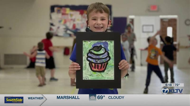 K-4 students get their art displayed at Fine Arts Complex