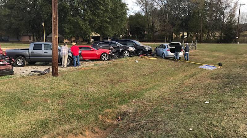 Driver falls asleep, crashes into Tyler used-car dealership