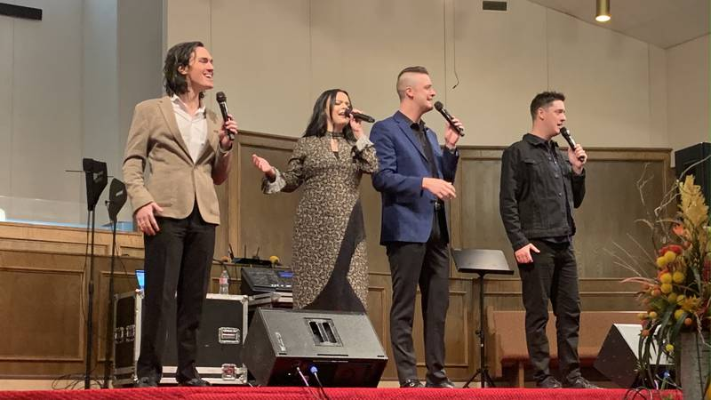 The Erwins, a Southern Gospel group featuring four siblings, take their musical talents to more...