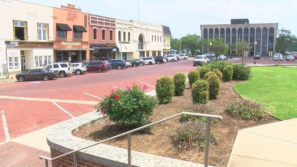 Downtown Marshall.