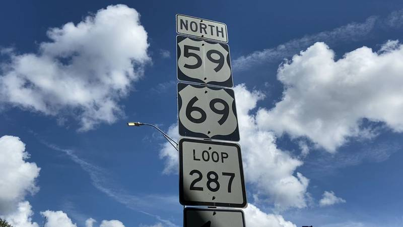 TxDOT has started improvements to walkways and curbs near the US 59 on-ramp near Lufkin High...