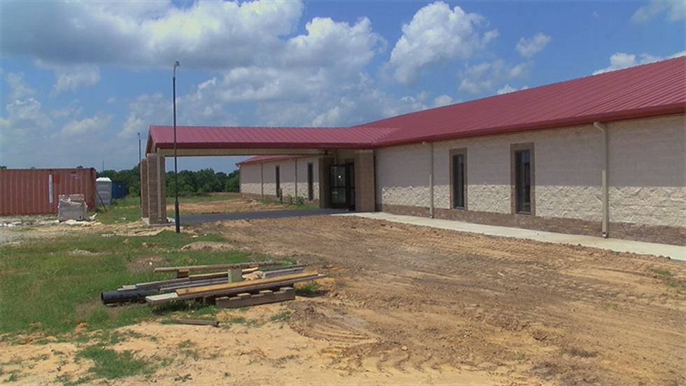 A new church is being constructed on the site of the building destroyed in 2017. (Source: KLTV...