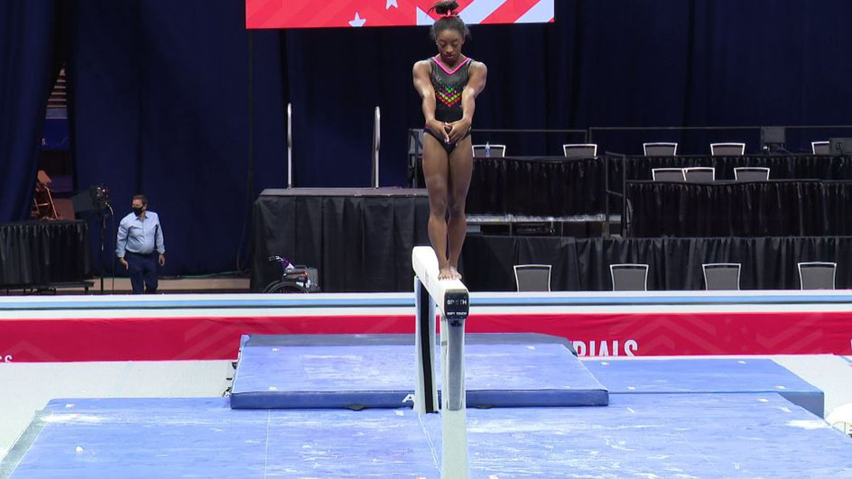 Simone Biles, the 24-year-old reigning world and Olympic gymnastics champion, locked up her...