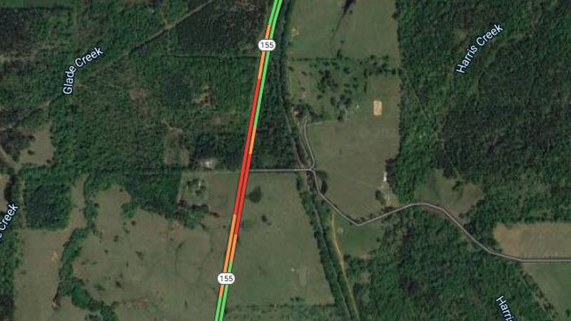 Fatal wreck involving pedestrian slows traffic on Hwy 155 north of Winona