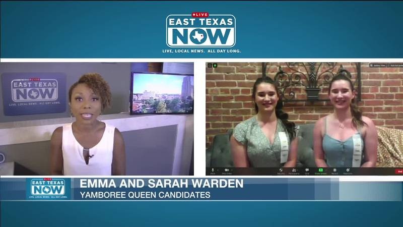 ETN's Kayla Lyons interviews candidates aiming to become the next Yamboree Queen.