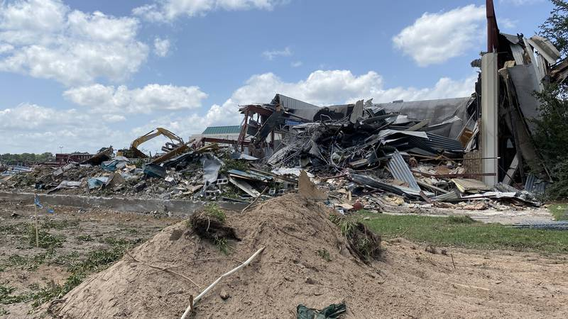 The City of Tyler has announced that completion of demolition for Harvey Hall is expected to be...