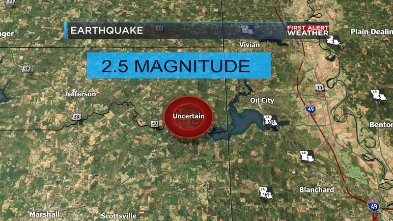According to the U.S. Geological Survey, a 2.5 magnitude earthquake was recorded near the town...