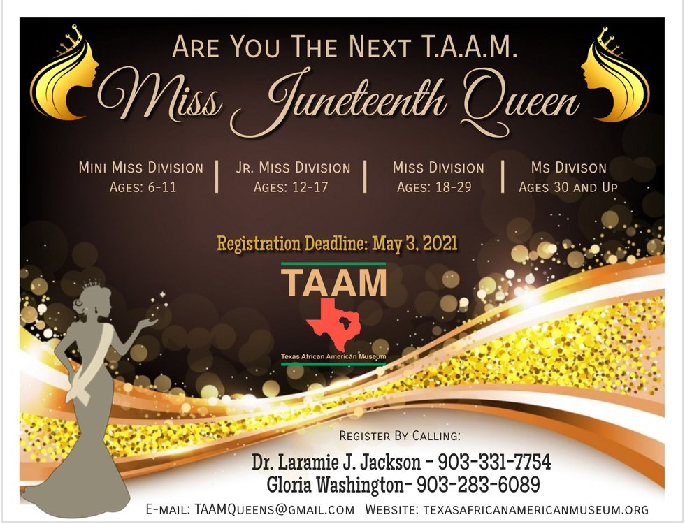 Miss Juneteenth Pageant and Gala invites contestants from across Texas to compete