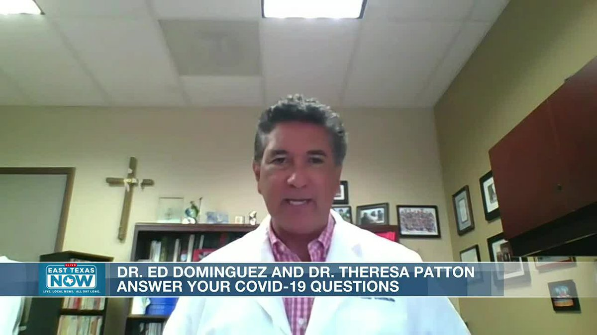 WATCH: Dr. Ed Dominguez, Dr. Theresa Patton discuss hot flashes, delta variant, and vaccines...