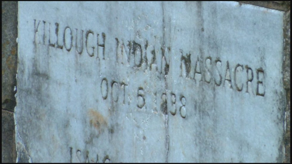 Killough Massacre Monument