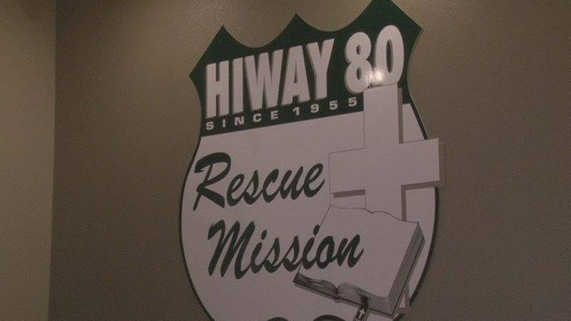Hiway 80 Rescue Mission is a shelter for women and children. (Source: KLTV Staff)