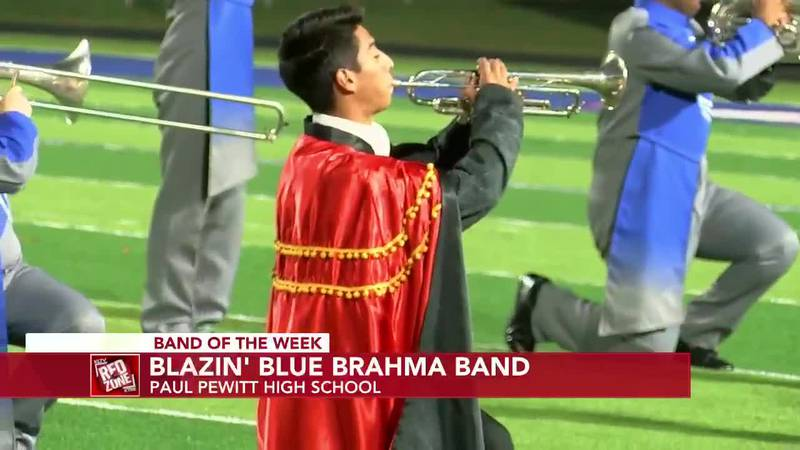 2020 Band of the Week, Week 13: Omaha Paul Pewitt Blazin Blue Brahma High School Band