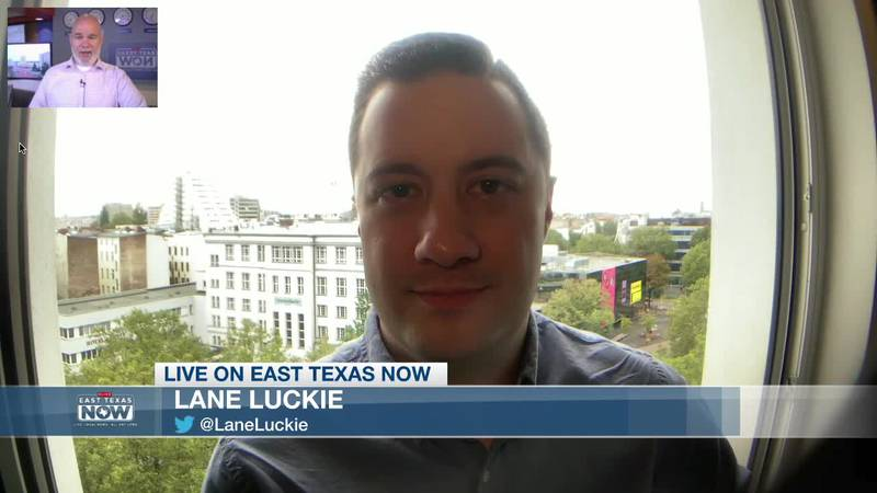 Lane Luckie joined host Jeremy Butler on East Texas Now to discuss big changes to DFW Airport,...