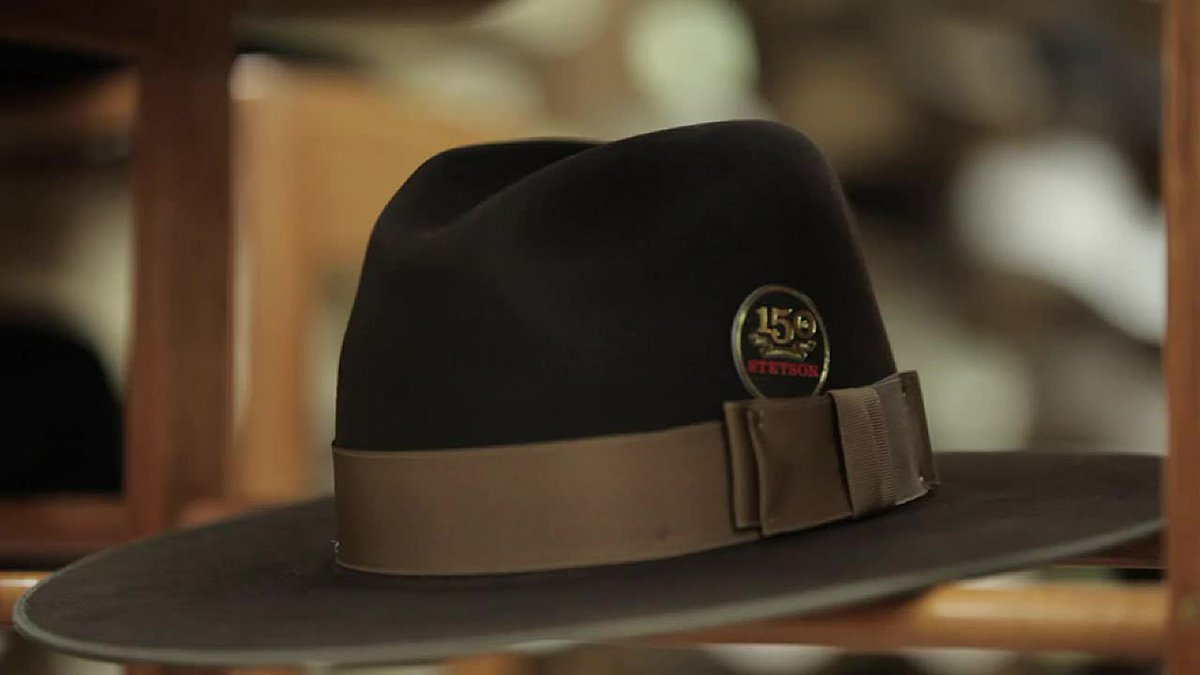 Are stetson made where hats The History